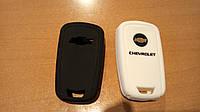 Силиконовый чехол на ключ OPEL, Chevrolet, фото 1