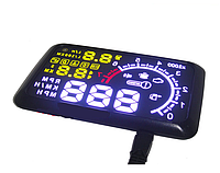 Проектор скорости и расхода на лобовое стекло Авто