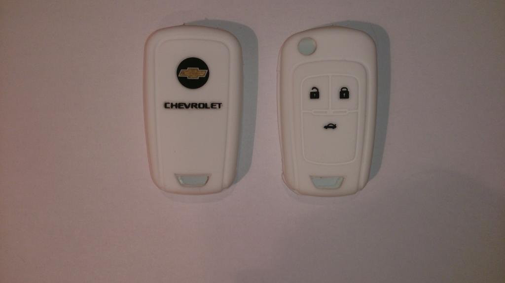 Силиконовый чехол на ключ Chevrolet