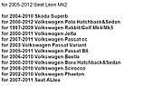 Камера заднего вида (Sony CCD) VW, SKODA,TIGUAN, Touareg, Old Passat, Porsche Cayenne, Fabia, POLO(3C), Golf V, фото 2