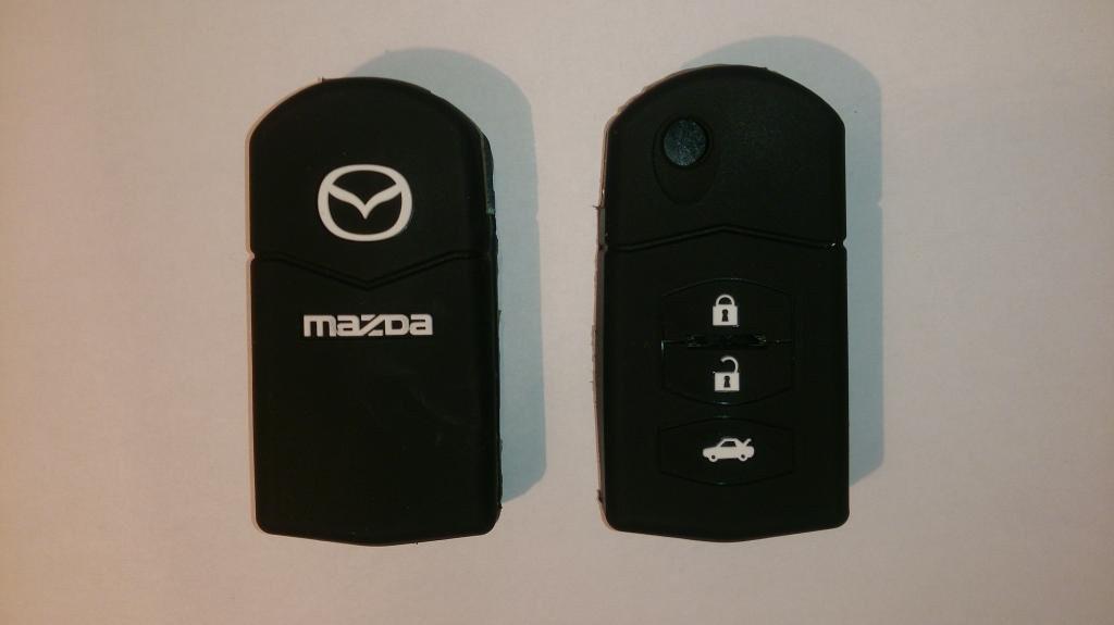 Силиконовый чехол на ключ MAZDA 2,3,5,6