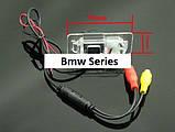 Камера заднего вида SONY(CCD) BMW BMW E46 E39 BMW X3 X5 X6 E60 E61 E62 E90 E91 E92 E53 E70 E71, фото 3