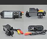 Камера заднего вида (Sony CCD) для Hyundai I30 Solaris Verna hatchback GENESIS COUPE, KIA SOUL, фото 3