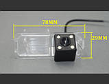 Камера заднего вида для VW Golf 6 Passat CC Scirocco (Sony CCD), фото 3