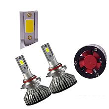 Светодиодная LED лампа головного света H1 Epistar V3C COB 8000Lm 36Watt