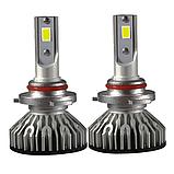 Светодиодная LED лампа головного света H1 Epistar V3C COB 8000Lm 36Watt, фото 2