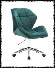 Перукарські,косметичні крісла на колесах , крісла для майстрів, тканина