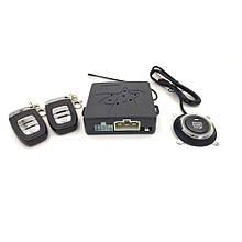 Автосигнализация c бесключевым доступом и кнопкой старт стоп Epitek HY-907 (завод двигателя с брелка )
