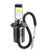 Светодиодная LED лампа головного света H3 White/Yellow COB 4800Lm 25Watt 6000K/4300K