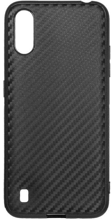 Чохол ColorWay Samsung A01 TPU Сarbon чорний