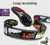 Видеорегистратор Full HD 1080P Wifi Dual Lens SONY IMX322 Novatek 96655 (двойная линза Sony), фото 8