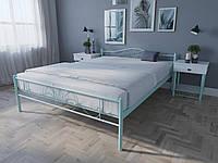 Кровать MELBI Лара Люкс Двуспальная 160х200 см Бирюзовый, КОД: 1389200