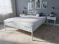 Кровать MELBI Элис Люкс Двуспальная 160х200 см Бирюзовый, КОД: 1389537