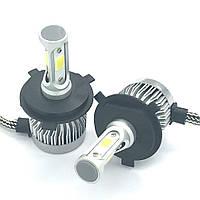 Светодиодная LED лампа головного света H4 Epistar C3 3200Lm 25Watt, фото 1