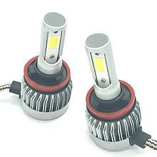 Светодиодная LED лампа головного света H11 Epistar C3 3200Lm 25Watt