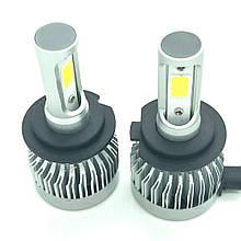 Светодиодная LED лампа головного света H3 Epistar C3 3200Lm 25Watt