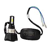 LED Мотолампа RTD (Мотоциклетная LED лампа головного света) 4600LM 42W, фото 4