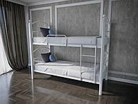 Кровать MELBI Патриция Вуд Двухъярусная 90200 см Белый КМ-001-03-10бел, КОД: 1416795