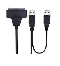 Кабель SATA (22 Pin) - USB, для подключения DVD или SSD к USB