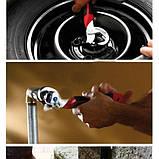 Универсальный гаечный разводной ключ 2 шт. Для сантехников, авто, инженеров Snap N Grip , фото 6
