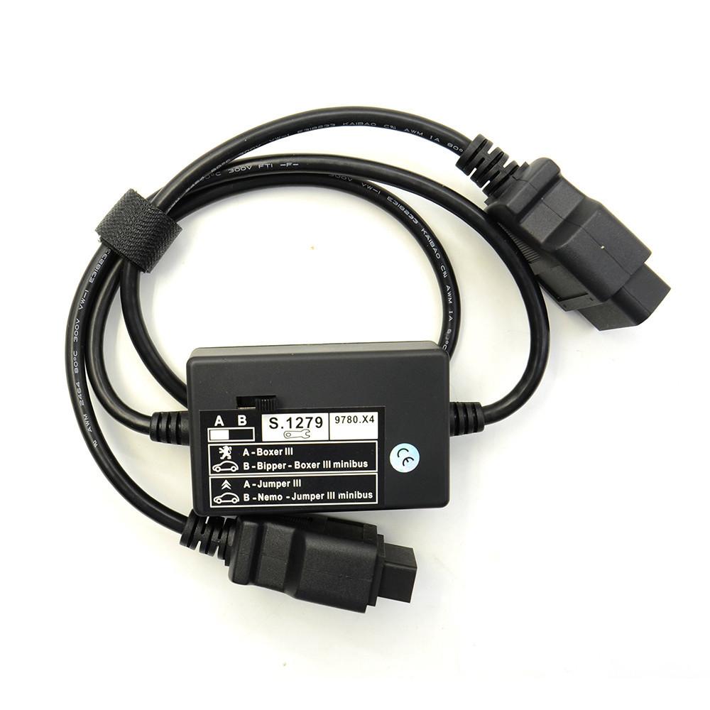 """Модуль S1279 для """"Lexia 3"""" OBD адаптер диагностики автомобилей Сitroen Nemo, Peugeot Boxer 3 и Citroen Jumper"""