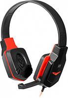 Гарнітура Defender Warhead G-320 black+red