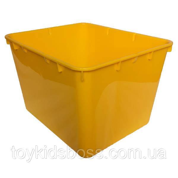 Контейнер пластиковый открытый Gigo желтый (1138Y)