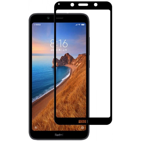 Захисне скло TOTO 5D Cold Carving Tempered Glass Xiaomi Redmi 7A Black