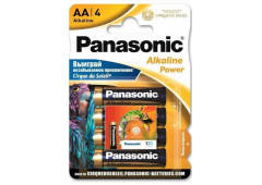 Батарейка Panasonic ALKALINE POWER AA BLI 4 Sticker Cirque du Soleil