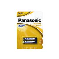 Батарейка Panasonic ALKALINE POWER AAA BLI 2