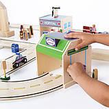 Набор транспорта Guidecraft Block Play к Дорожной системе, 12 шт. (G6719), фото 4