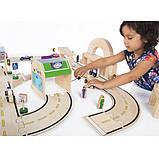 Набор транспорта Guidecraft Block Play к Дорожной системе, 12 шт. (G6719), фото 5