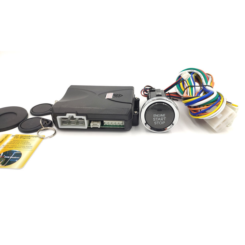Кнопка старт стоп с иммобилайзером Cardot 1000PSR (Long)