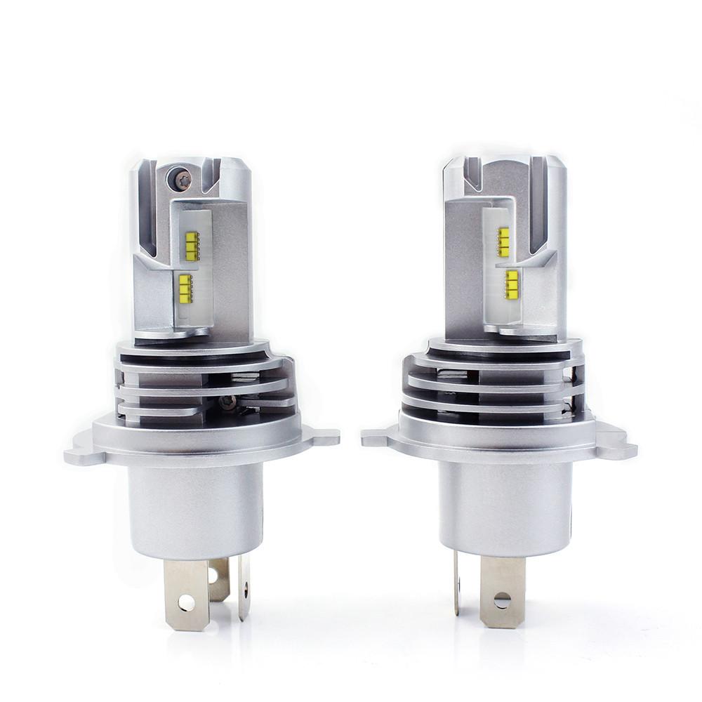 Светодиодные авто лампы  головного света нового поколения H4 M3 ZES 10000Lm 60Watt