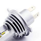 Светодиодные авто лампы  головного света нового поколения H4 M3 ZES 10000Lm 60Watt, фото 6