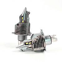 Светодиодные авто лампы LED головного света нового поколения Н4  ZES Terminator (Fighter) 11600Lm 70Watt, фото 1