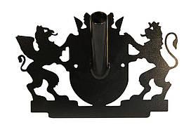 Тримач для прапора (Флагшток) ProfitM ФЛ-01 чорний