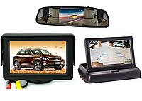 Авто Видео парктроник  Tiger iD091 (Монитор+камера+4 датчика ), фото 1