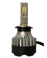 Светодиодная LED лампа головного света KT CSP 8000Lm 70Watt (H1 цоколь), фото 1