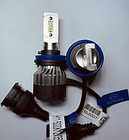 Светодиодные LED лампы головного света  KT CSP 8000Lm 70Watt (Цоколь H11), фото 1
