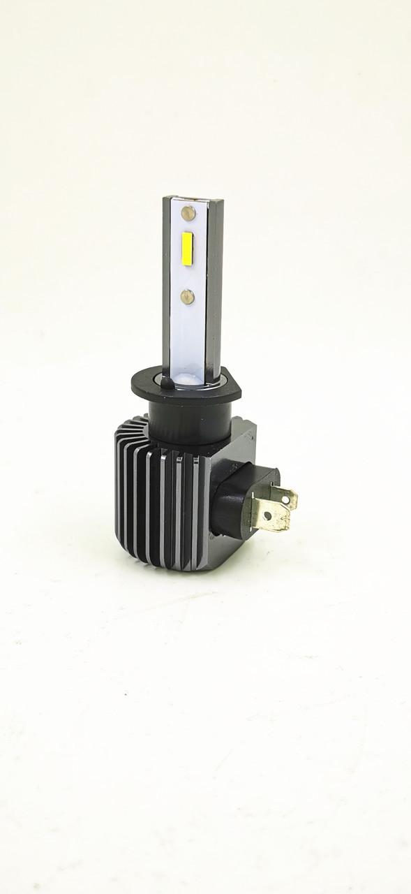 Светодиодная LED лампа головного света EF CSP 8000Lm 50Watt (H1 цоколь)