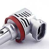 Светодиодные автомобильные лампы Н11 Fighter  ZЕS 10000Lm 55Watt, фото 9