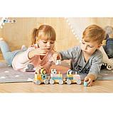 Игрушка Viga Toys PolarB Поезд с животными (44015), фото 2