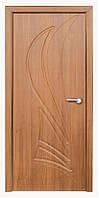 Дверь межкомнатная Корона ПГ (орех светлый)