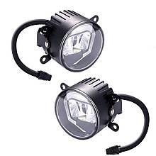 Противотуманные LED ЛЕД фары + DRL Cree chips. Аналог Osram LED Fog 101 (LEDFOG101)