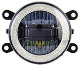 Противотуманные LED ЛЕД  фары + DRL Cree chips + Angel Eyes FOGDRL002, фото 2