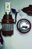 Светодиодные LED лампы головного света 9007 (HB5) KT CSP 8000Lm 70Watt + интеллектуальный контроль температур, фото 3