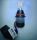 Светодиодные LED лампы головного света 9007 (HB5) KT CSP 8000Lm 70Watt + интеллектуальный контроль температур, фото 5