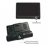 Видеорегистратор DVR 3CFHD 3 камеры с картой памяти 32Gb Full HD 1080P штатная установка задней камеры, фото 3