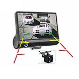 Видеорегистратор DVR 3CFHD 3 камеры с картой памяти 32Gb Full HD 1080P штатная установка задней камеры, фото 4